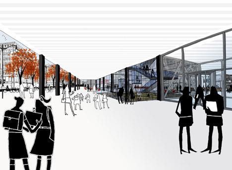 Mecanoo wins contest to overhaul Mies van der Rohe's Washington library