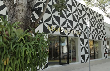 Louis Vuitton store, Miami Design District