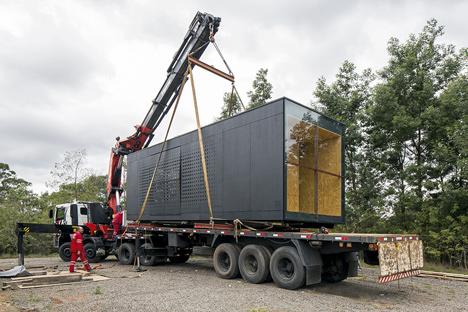 Minimod modular mobile home by MAPA Architects
