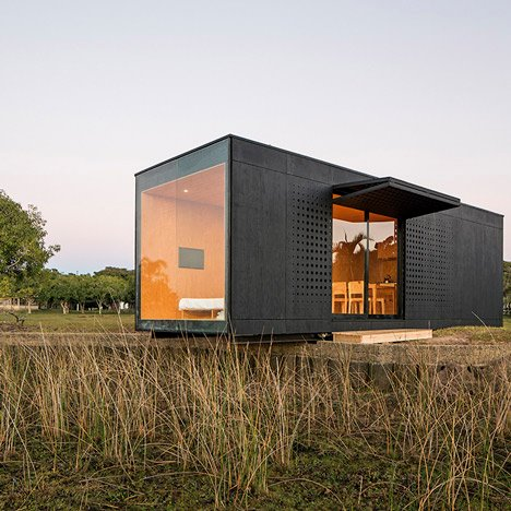 Minimod modular mobile home by MAPA Architects