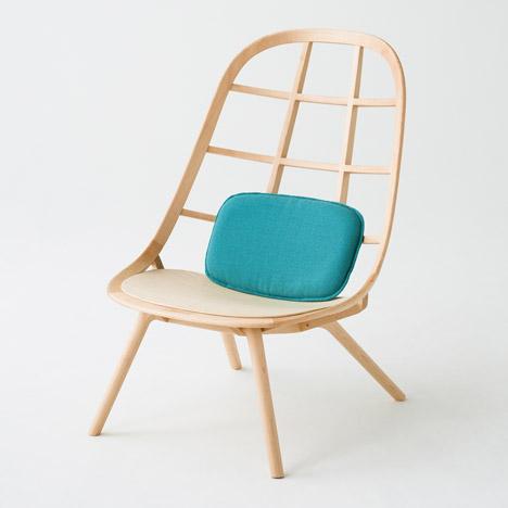 Nadia furniture by Jin Kuramoto for Matsuso T