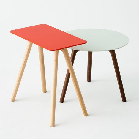 Nadia furniture by Jin Kuramoto for Matsuso T