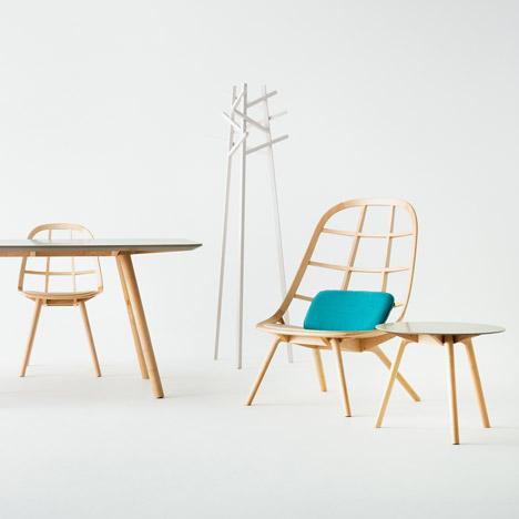 Nadia furniture by Jin Kuramotofor Matsuso T