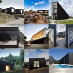 New Pinterest board: black houses