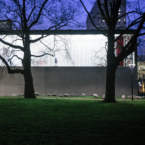 OMA follows up Kunsthal art robbery with major security and layout improvements