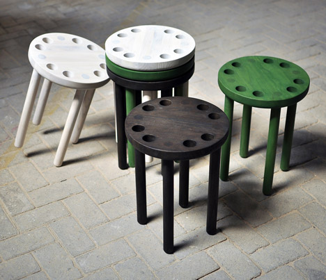 Poke Stool by Innermost
