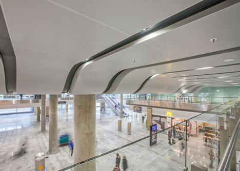 Pulkovo International Airport terminal by Grimshaw