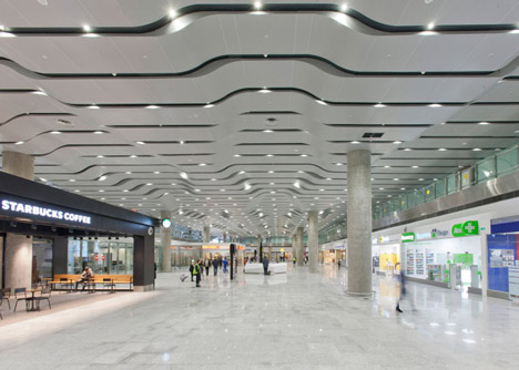 Pulkovo International Airport terminal by Grimshaw