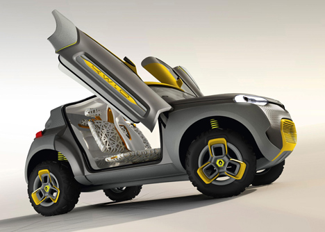 Renault unveils Kwid Concept car equipped with traffic-spotting drone