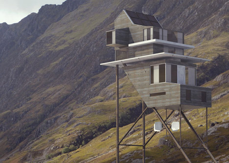 Roost House by Benoit Challand
