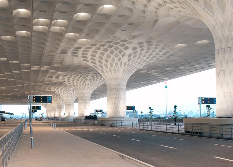 9: Mumbai airport terminal by SOM