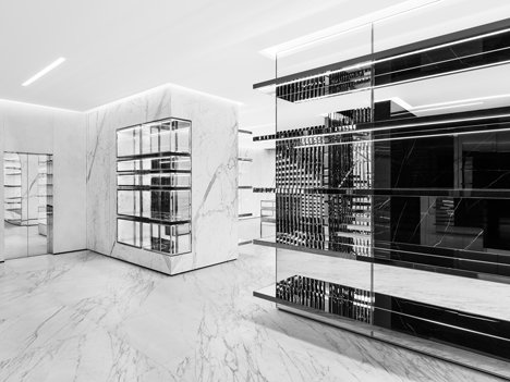 16cd9c7ae8ca6 Hedi Slimane opens Saint Laurent store in London