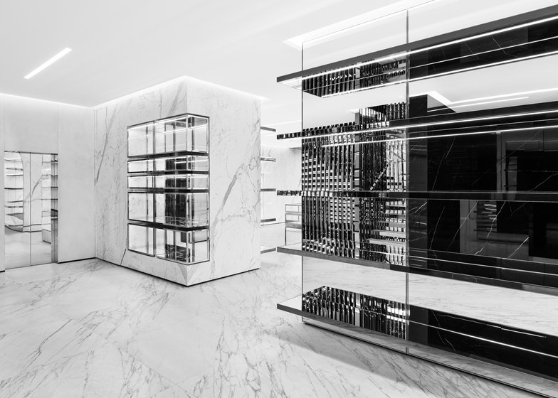 Célèbre Slimane opens Saint Laurent store in London JP99