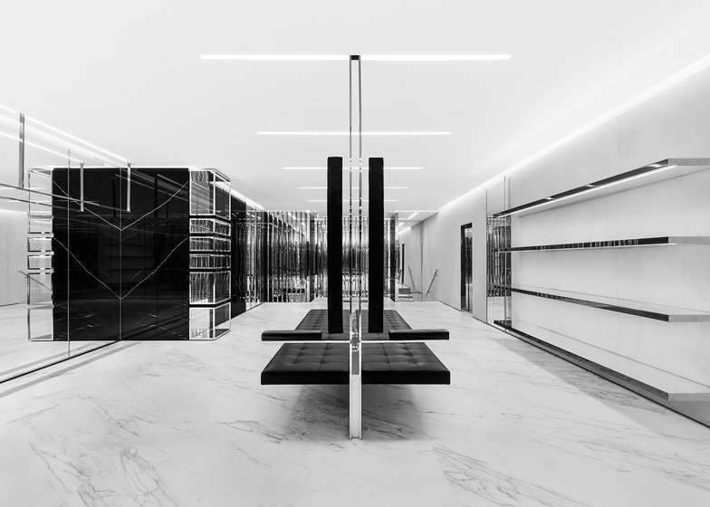 Hedi Slimane opens Saint Laurent store in London