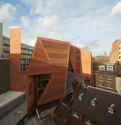 Saw Swee Hock Student Centre by O'Donnell + Tuomey Architects