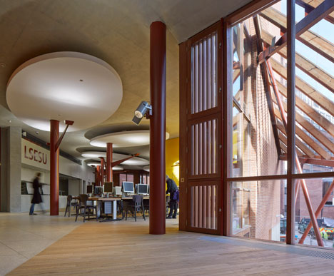 Saw Swee Hock Student Centre at London School of Economics by O'Donnell + Tuomey