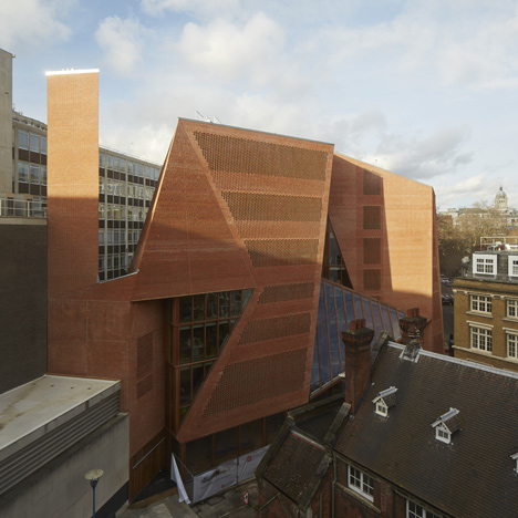 O'Donnell + Tuomey complete faceted brick student centre at London School of Economics