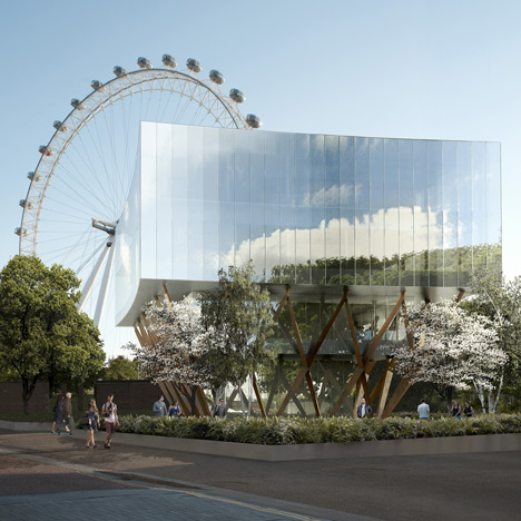 Shell Centre Pavilion by Marks Barfield