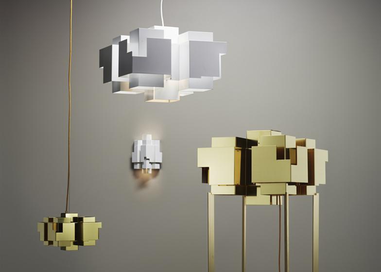 Folkform designs skyline lamp for Örsjö belysning