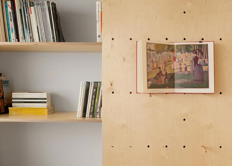 Space saving modular studio for an artist by raanan stern dezeen ss 10