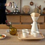 Ceramic coffee set launched by Luca Nichetto and Mjölk