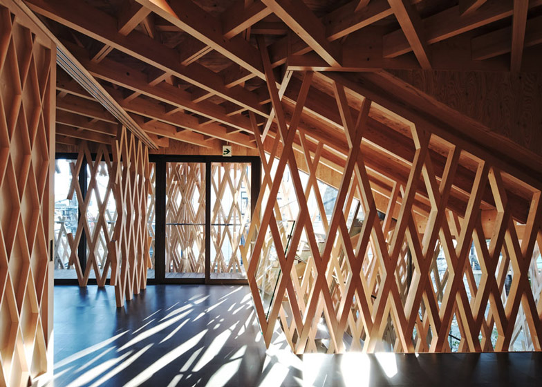 SunnyHills cake shop by Kengo Kuma - harry - 哈梨见竹视雾所