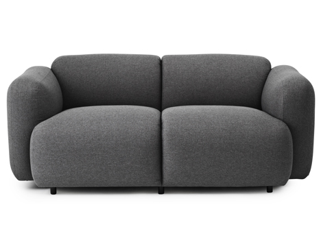 Jonas Wagell expands Swell sofa range for Normann Copenhagen