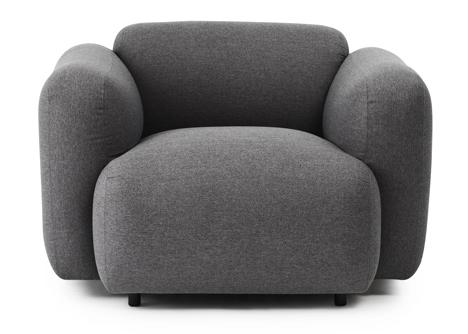 Jonas Wagell expands Swell sofa range for Normann Copenhagen