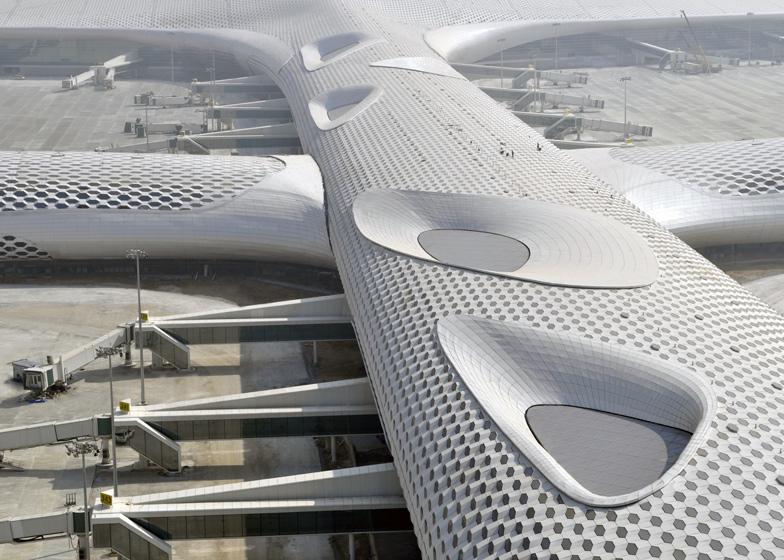 8: Terminal 3 atShenzhen Bao'an International Airport by Studio Fukas