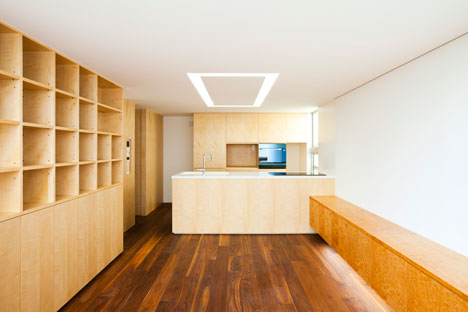 "Tokyo house by Atelier Tekuto with skylight designed to ""frame the sky"""