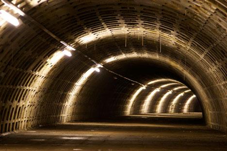 Underground farm built in tunnels 12 storeys beneath London