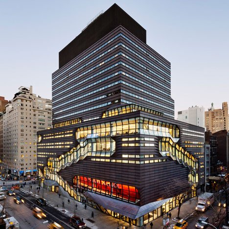 SOM completes campus building for The New School in New York