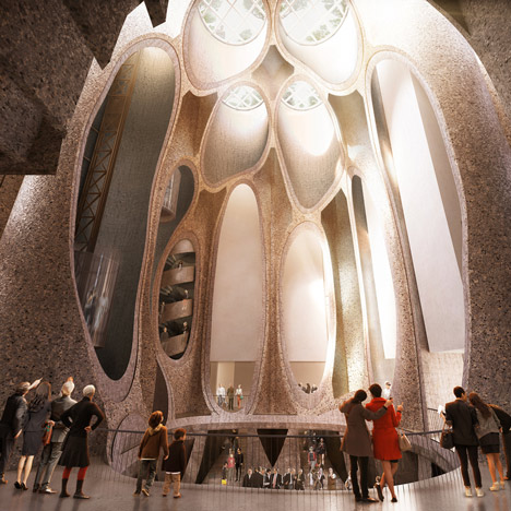 Heatherwick unveils gallery inside grain silo complex for Cape Town's V&A Waterfront