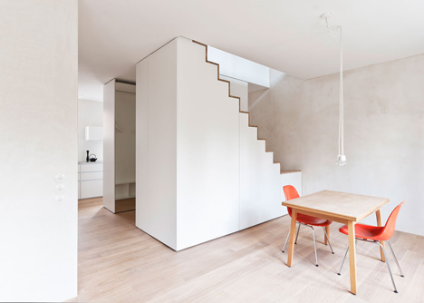 Von M modernises three apartments inside a Stuttgart apartment block
