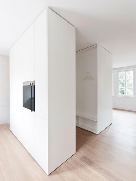 Von M modernises three apartments inside a Stuttgart apartment block