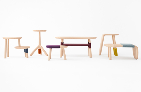 Nendo Bases Furniture For Walt Disney Japan On Winnie The Pooh Characters
