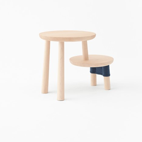 Nendo bases furniture for Walt Disney Japan on Winnie-the-Pooh characters