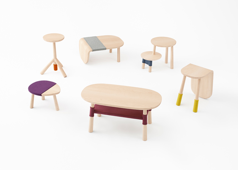 Nendo Bases Tables For Walt Disney Japan On Winnie The Pooh Characters