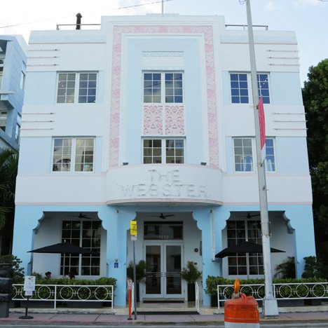 Webster hotel in South Beach, Miami