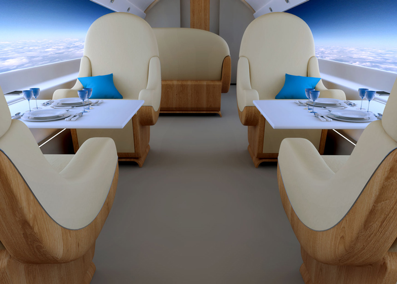 World's first supersonic private jet will replace windows with live-streaming screens
