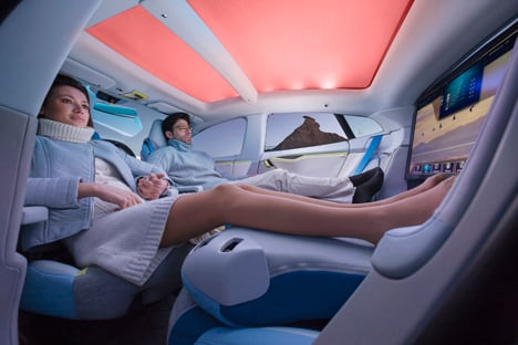 Luxury self-driving XchangE Cars to become offices of tomorrow