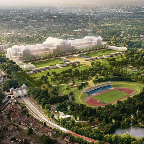 Crystal Palace rebuild proposal