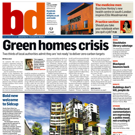 Building Design magazine to close print edition
