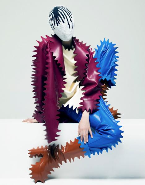Iris van Herpen curates a fashion magazine