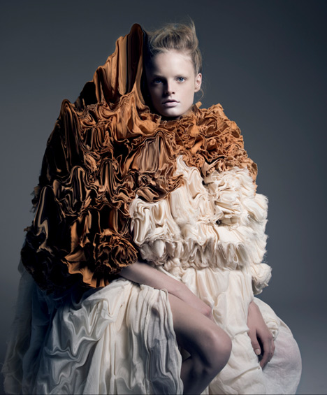 Iris van Herpen curates a fashion magazine