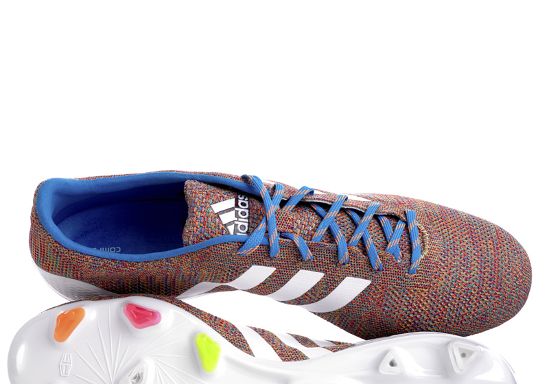 hot sale online da88d 69258 World s first knitted football boot announced by Adidas