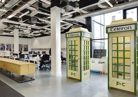 Airbnb office in Dublin resembles an Irish pub