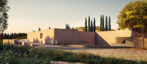 Álvaro Siza presents new entrance for the Alhambra
