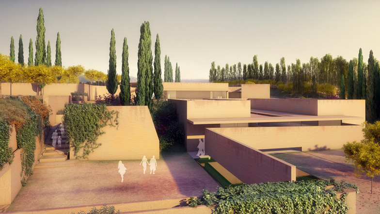 Álvaro Siza presents new entrance for the Alhambra