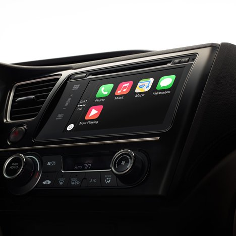 Apple unveils CarPlay software with Ferrari Volvo and Mercedes-Benz